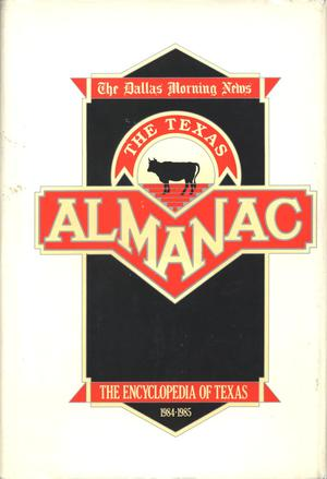 Primary view of object titled 'Texas Almanac, 1984-1985'.