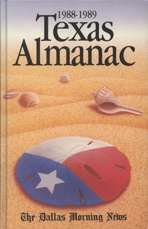 Primary view of object titled 'Texas Almanac, 1988-1989'.