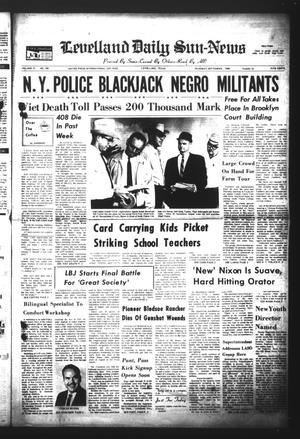 Levelland Daily Sun-News (Levelland, Tex.), Vol. 27, No. 230, Ed. 1 Thursday, September 5, 1968