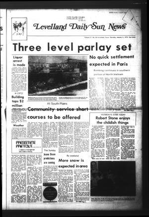 Levelland Daily Sun News (Levelland, Tex.), Vol. 31, No. 66, Ed. 1 Thursday, January 4, 1973