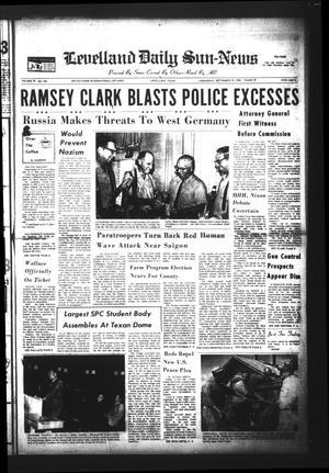Levelland Daily Sun-News (Levelland, Tex.), Vol. 27, No. 239, Ed. 1 Wednesday, September 18, 1968