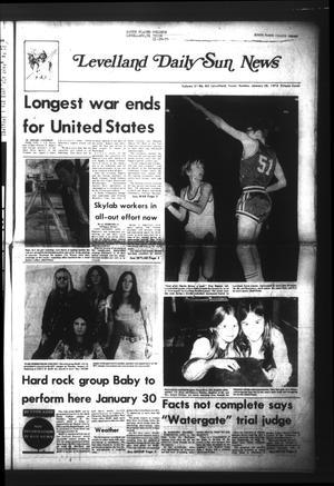Levelland Daily Sun News (Levelland, Tex.), Vol. 31, No. 83, Ed. 1 Sunday, January 28, 1973