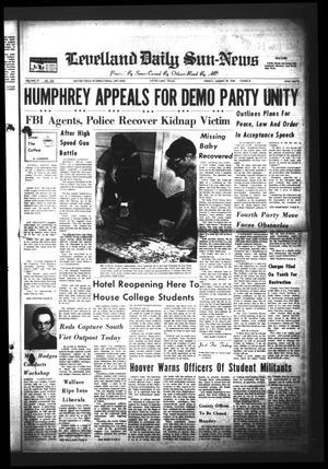 Levelland Daily Sun-News (Levelland, Tex.), Vol. 27, No. 226, Ed. 1 Friday, August 30, 1968