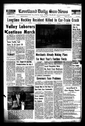 Levelland Daily Sun-News (Levelland, Tex.), Vol. 26, No. 60, Ed. 1 Tuesday, July 5, 1966