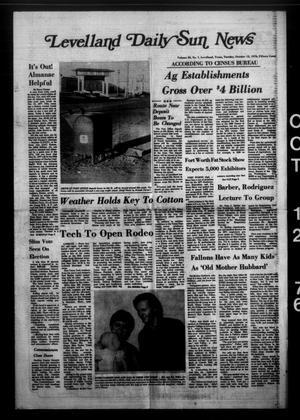 Levelland Daily Sun News (Levelland, Tex.), Vol. 35, No. 7, Ed. 1 Tuesday, October 12, 1976