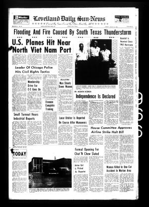 Primary view of object titled 'Levelland Daily Sun-News (Levelland, Tex.), Vol. 26, No. 85, Ed. 1 Friday, August 12, 1966'.
