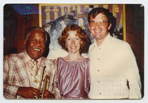 Roy Eldridge with Lyn and Bob Badger