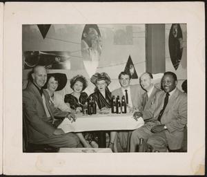 Roy Eldridge in group photo