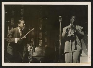 Roy Eldridge and clarinetist Prince Robinson
