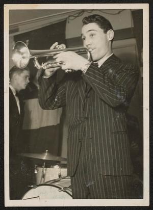 Trumpet player,