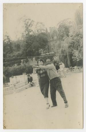 Roy Eldridge and Madame Dorothée Cabat