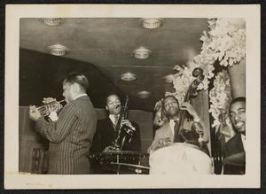 Roy Eldridge with jazz quartet