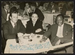 Roy Eldridge with unidentified couple