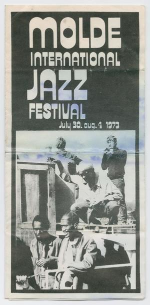 Pamphlet for the 1973 Molde International Jazz Festival