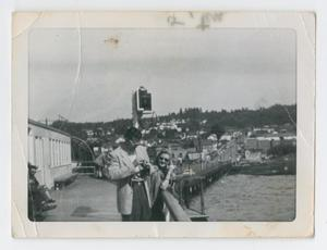 Man and woman at waterfront