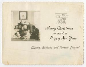 Christmas card from Illinois Jacquet and family