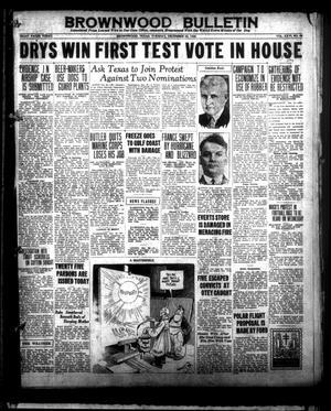 Brownwood Bulletin (Brownwood, Tex.), Vol. 26, No. 58, Ed. 1 Tuesday, December 22, 1925
