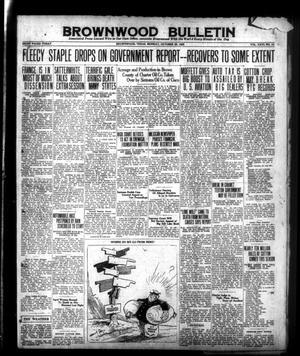 Brownwood Bulletin (Brownwood, Tex.), Vol. 26, No. 10, Ed. 1 Monday, October 26, 1925