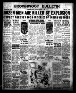 Brownwood Bulletin (Brownwood, Tex.), Vol. 26, No. 67, Ed. 1 Saturday, January 2, 1926