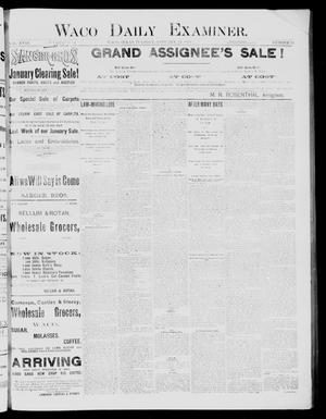 Waco Daily Examiner (Waco, Tex), Vol. 18, No. 75, Ed. 1, Tuesday, January 27, 1885