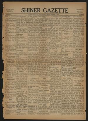 Primary view of Shiner Gazette (Shiner, Tex.), Vol. 47, No. 50, Ed. 1 Thursday, December 12, 1940