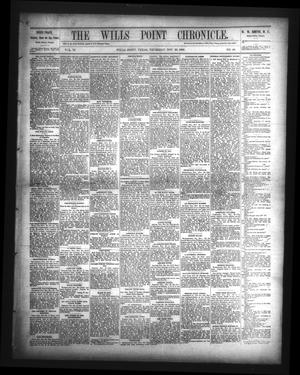 The Wills Point Chronicle. (Wills Point, Tex.), Vol. 11, No. 48, Ed. 1 Thursday, November 29, 1888