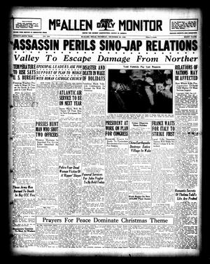 Primary view of McAllen Daily Monitor (McAllen, Tex.), Vol. 26, No. 253, Ed. 1 Thursday, December 26, 1935