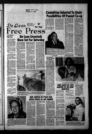 Primary view of object titled 'De Leon Free Press (De Leon, Tex.), Vol. 91, No. 33, Ed. 1 Thursday, January 11, 1979'.