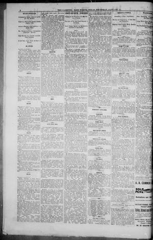 Primary view of object titled 'Fort Worth Daily Gazette. (Fort Worth, Tex.), Vol. 7, No. 16, Ed. 1, Thursday, January 4, 1883'.