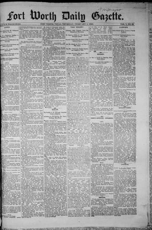 Fort Worth Daily Gazette. (Fort Worth, Tex.), Vol. 7, No. 39, Ed. 1, Thursday, February 1, 1883