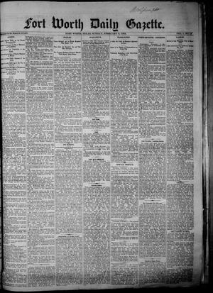 Primary view of Fort Worth Daily Gazette. (Fort Worth, Tex.), Vol. 7, No. 42, Ed. 1, Sunday, February 4, 1883