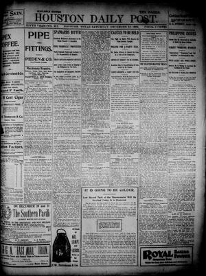 Primary view of object titled 'The Houston Daily Post (Houston, Tex.), Vol. 14, No. 252, Ed. 1, Saturday, December 10, 1898'.