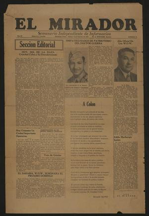 El Mirador (Edinburg, Tex.), Vol. 3, No. 41, Ed. 1 Friday, October 12, 1945