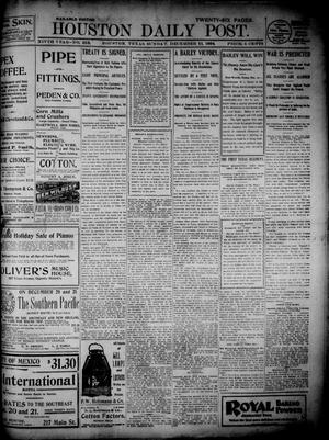 Primary view of object titled 'The Houston Daily Post (Houston, Tex.), Vol. 14, No. 253, Ed. 1, Sunday, December 11, 1898'.