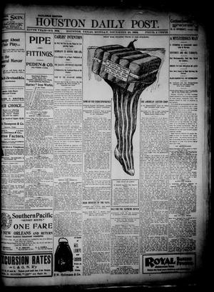 Primary view of object titled 'The Houston Daily Post (Houston, Tex.), Vol. 14, No. 268, Ed. 1, Monday, December 26, 1898'.
