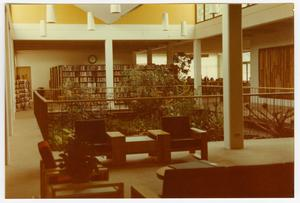 Primary view of object titled '[Atrium at the Emily Fowler Public Library]'.