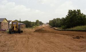 Primary view of object titled '[Carroll Boulevard extension looking due North]'.