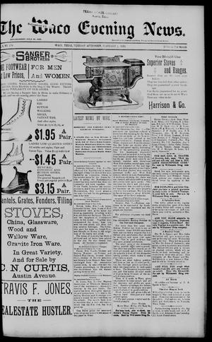 Primary view of object titled 'The Waco Evening News. (Waco, Tex.), Vol. 5, No. 176, Ed. 1, Tuesday, February 7, 1893'.
