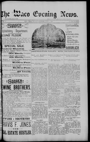 Primary view of object titled 'The Waco Evening News. (Waco, Tex.), Vol. 5, No. 196, Ed. 1, Thursday, March 2, 1893'.