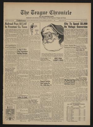 The Teague Chronicle (Teague, Tex.), Vol. 62, No. 25, Ed. 1 Thursday, December 11, 1969