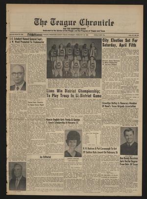 The Teague Chronicle (Teague, Tex.), Vol. 61, No. 35, Ed. 1 Thursday, February 20, 1969