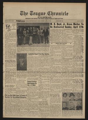 The Teague Chronicle (Teague, Tex.), Vol. 61, No. 44, Ed. 1 Thursday, April 24, 1969