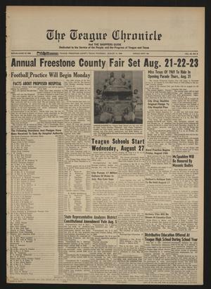 The Teague Chronicle (Teague, Tex.), Vol. 62, No. 8, Ed. 1 Thursday, August 14, 1969