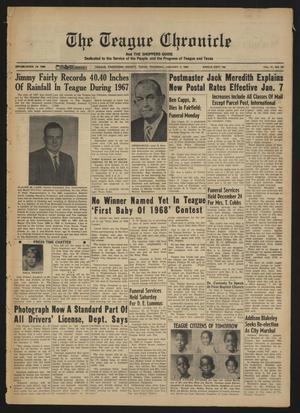 The Teague Chronicle (Teague, Tex.), Vol. 61, No. 29, Ed. 1 Thursday, January 4, 1968