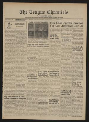 The Teague Chronicle (Teague, Tex.), Vol. 62, No. 18, Ed. 1 Thursday, October 23, 1969