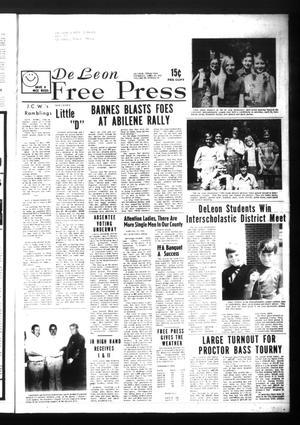 Primary view of De Leon Free Press (De Leon, Tex.), Vol. 84, No. 45, Ed. 1 Thursday, April 20, 1972