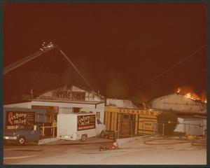 [Fire erupts at Fixture Mart on Harry Hines Boulevard]