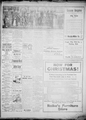 Primary view of object titled 'The Greenville Morning Herald. (Greenville, Tex.), Vol. 20, No. 84, Ed. 1, Wednesday, December 7, 1910'.