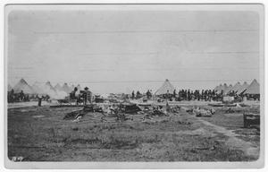 Primary view of object titled '[4th Artillery Camp]'.