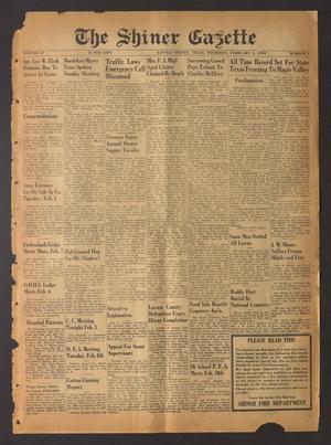 The Shiner Gazette (Shiner, Tex.), Vol. 57, No. 5, Ed. 1 Thursday, February 3, 1949